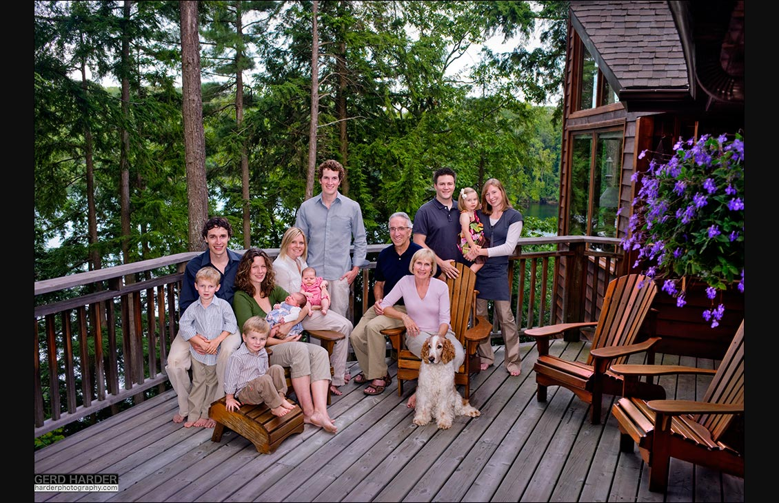 Port Carling family portrait photography