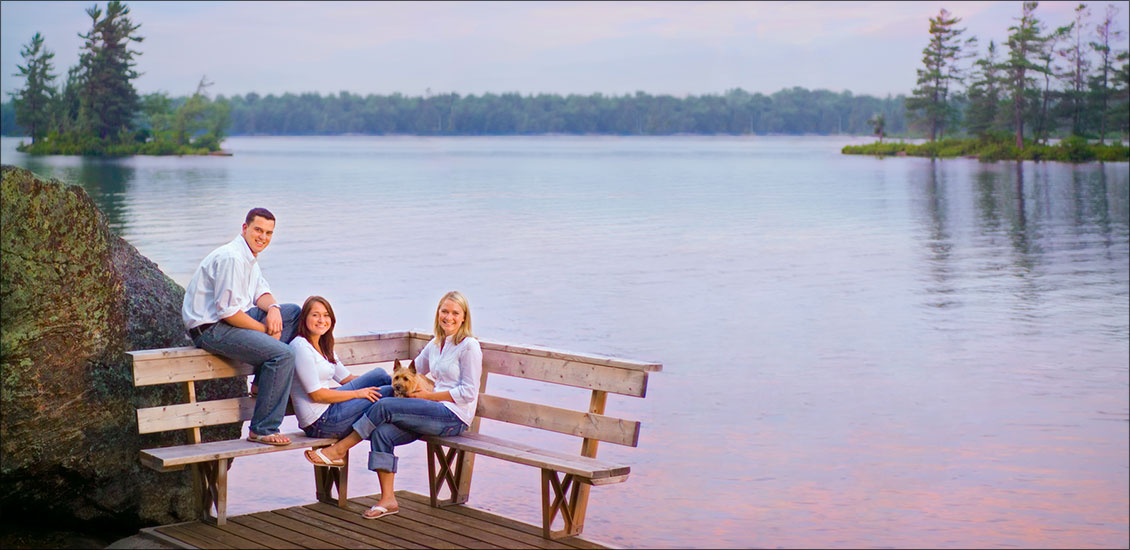 muskoka family portrait photography