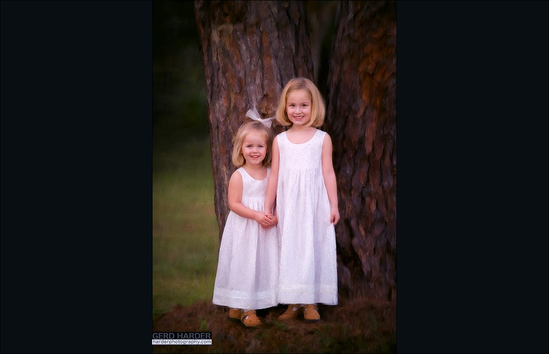children photography in muskoka
